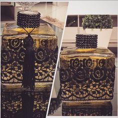 I see a soap idea Wine Bottle Crafts, Bottle Art, Sewing Room Organization, Antique Perfume Bottles, Altered Bottles, Craft Wedding, Bottles And Jars, Handmade Decorations, Diy And Crafts