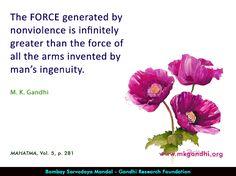 #force #gandhi #gandhiquotes Mahatma Gandhi Quotes, Greater Than, Inspirational, Quotes By Mahatma Gandhi