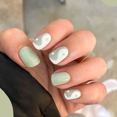 Cute Gel Nails, Funky Nails, Simple Acrylic Nails, Best Acrylic Nails, Square Gel Nails, Short Square Nails, Nails Ideias, Short Nail Designs, Square Nail Designs