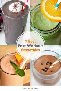 7 Post-Workout Smoothies for Every Exercise