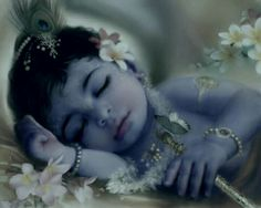 Krishna is perfect, he is already perfect, but also ever-expanding, ever-growing.this might seem to be a paradoxon, but it is possible for Krishna Baby Krishna, Little Krishna, Krishna Leela, Cute Krishna, Jai Shree Krishna, Radhe Krishna, Yashoda Krishna, Lord Krishna Images, Radha Krishna Pictures