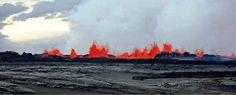 Volcano Bardarbunga Iceland, Dragon Fire 1.9. 2014   NCO eCommerce, www.netkaup.is