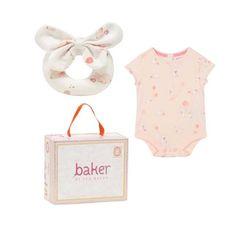86de8d187 Ted Baker Baby Girls Vest Romper Bodysuit Rattle Soft Toy Gift 12-18 Months  Baby