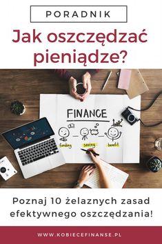 Jak oszczędzać pieniądze? 10 żelaznych zasad efektywnego oszczędzania. Blog Kobiece Finanse #finanse #finance #homebudget #budżetdomowy #oszczędzanie #pieniądze #oszczędzaniepieniędzy #finanseosobiste Savings Challenge, Money Saving Challenge, Savings Plan, Saving Money, Copywriter, Hand Lettering, Budgeting, Finance, Challenges