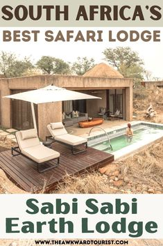Ever dreamed of a luxury safari vacation? Check out my guide to the Earth Lodge at Sabi Sabi Private Game Reserve in South Africa. #Africa #Safari | African Safari Vacation | luxury hotel | luxury safari lodge | luxury safari lodge interior | luxury safari lodge hotels | South Africa travel beautiful places | South Africa Travel safari | South Africa travel photography | Africa safari lodge | Africa travel destinations | - Tourist Places  IMAGES, GIF, ANIMATED GIF, WALLPAPER, STICKER FOR WHATSAPP & FACEBOOK