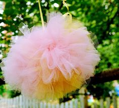 love these ballerina skirt poms!
