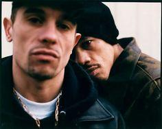 Bruno Lopes & Didier Morville aka Le Suprême NTM , KOOL SHEN & JOEY STARR.
