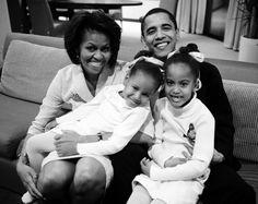 Vogue Daily — Michelle Obama, President Obama, Malia Obama, and Sasha Obama Malia Obama, Michelle Obama, Family Tumblr, Joe Biden, Durham, Presidente Obama, Malia And Sasha, First Black President, Black Presidents