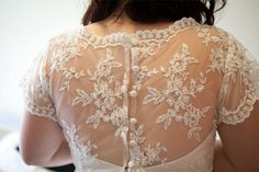 One-off bespoke wedding dress by Sally Eagle Bridal