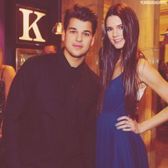 Rob Kardashian and Kendall Jenner