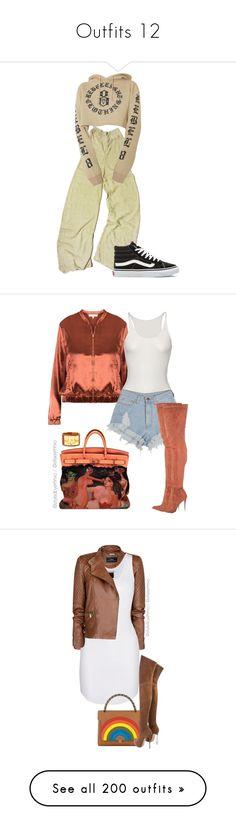 """Outfits 12"" by analinajgalaviz ❤ liked on Polyvore featuring Vans, Friendly Hunting, Hermès, sbemnxo, styledbyemnxo, MANGO, Étoile Isabel Marant, Anya Hindmarch, polyvoreeditorial and Louis Vuitton"