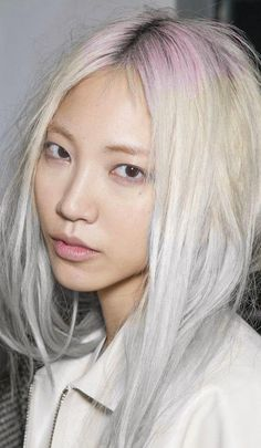 pastel hair....