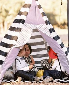 """Set up a """"kids only!"""" tent. 