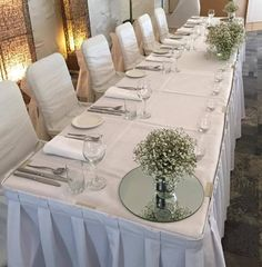 Bridal Table at Quality Hotel Ballina. Quality Hotel, Bridal Table, Beach Resorts, Bed And Breakfast, Wedding Venues, Table Settings, Weddings, Table Decorations, Furniture