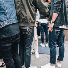 Bunch of well dressed men