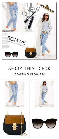 """""""Romwe contest"""" by mell-2405 ❤ liked on Polyvore featuring Chloé"""