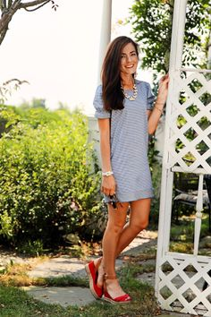 Classy Girls Wear Pearls: Some Summer Sunday