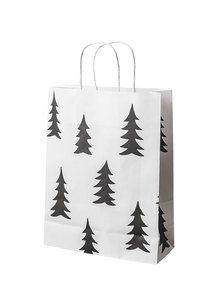 Flott gavepose i det populære Gran mønsteret.Mål: 24 x 32 x 10 cm.