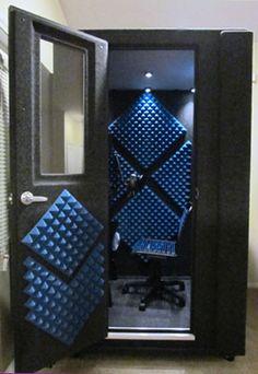 Portable Recording Booths - Audio Booths - Recording Studio: