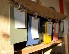 DIY: Gerichte-Wunschlisten-Girlande