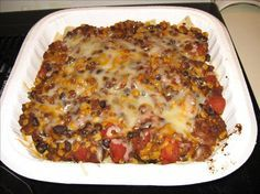 Mexican casserole - 6.5 WW points - this was the best recipe we've tried in the last couple of weeks. It's a keeper!  - Diane