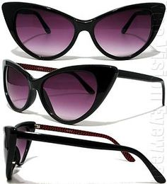 Oakley Sunglasses OFF!>> Details about Oversized Cat Eye Sunglasses Vintage Style Black 80 Black Sunglasses, Ray Ban Sunglasses, College Girl Fashion, The Blues Brothers, Pin Up, Cat Eye Glasses, New Bag, Handbags Michael Kors, Shoes