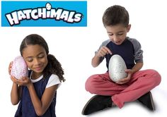 Available now! Hatchimals are interactive magical creatures inside eggs! Who's inside? It's a surprise! Care for them and they will hatch themselves with your help.  #Hatchimals http://www.mastermindtoys.com/Best-Bets-For-October-Birthdays-Hatchimals.aspx