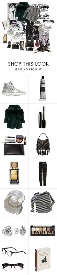 """""""Strange Lady"""" by nathalie-puex ❤ liked on Polyvore featuring Dolce&Gabbana, Golden Goose, Aesop, Ted Baker, Forever 21, Bobbi Brown Cosmetics, Rebecca Minkoff, Dion Lee, Effy Jewelry and Zadig & Voltaire"""