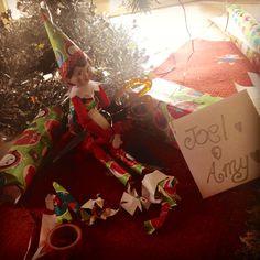 Elf brings great gifts