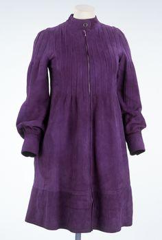 Suede Dress / Jean Muir 1965 / Victoria and Albert Museum London