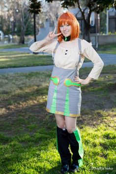 Peace! (Penny cosplay - RWBY) by FangirlPhysics.deviantart.com on @deviantART