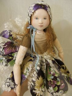 Poppet A Cloth and Paperclay Doll Project on by Victoria DiPietro of victoriadipietro on Etsy