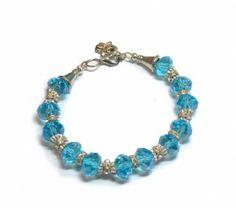 Armband Belinda | Blauwe Collectie | Beads Creations