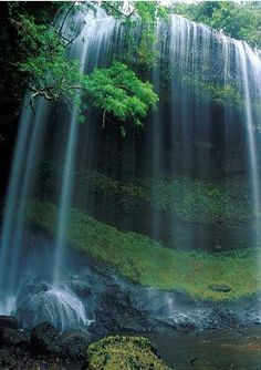 The Waterfalls at Trabzon by the Eastern Black Sea Region, Turkey