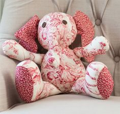 Riley Blake Designs, Flora the Elephant - how cute!