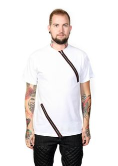 Zipper Shirt - Horse of Arabia - Available in White, Blue & Black Colorways