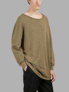 LOEWE Loewe Men'S Green Sweater. #loewe #cloth #sweaters