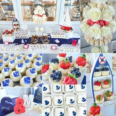 | S&M are #TyingTheKnot | #BridalShower #Desserttable #Styling by #cwdistinctivedesigns | #Cheesecakes & #Cupcakes by @thesconepony | Venue @bayheadyachtclub | #nautical #desserttables #anchors #petitefours #frenchmacarons #chocolate #strawberries #cakepops #bhyc #njevents - See more at: http://iconosquare.com/viewer.php#/detail/1013239620647565277_300785812 By Instagra,er @cwdistinctivedesigns Iconosquare – Instagram webviewer