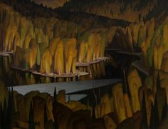High Water, 1948, Alfred Joseph Casson. Canadian (1898 - 1992) - Oil on Board -