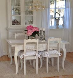 room decor dining shabby
