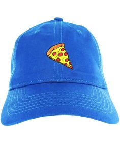 a57dadb3 Pizza Dad Hat Cap Pizza Embroidered Adjustable Baseball Cap Blue CA12ICHKG8Z