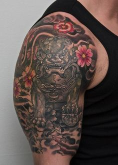 Amazing Foo Dog Tattoo Ideas (7)