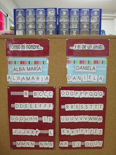 Names, Beginning Sounds, Teaching Letters, Name Writing, Classroom Displays