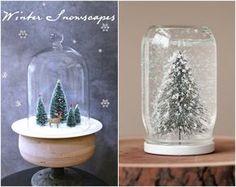Как сделать снежный шар своими руками: пошаговая инструкция | http://idesign.today/dekor/kak-sdelat-snezhnyj-shar-svoimi-rukami