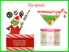 The Grinch Pink Zebra Sprinkles recipe CONTACT ME: malenawilbourn@gmail.com