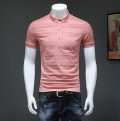 755bc4132b1 Men Summer Polo Shirt 2019 Brand Men  s Fashion Cotton Short Sleeve Polo  Shirts