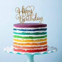 Birthday Cake Topper by Beau-coup