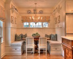 Traditional Kitchen breakfast nook Design Ideas, Pictures, Remodel and Decor