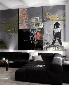 Graffiti-inspired art with a touch of sophistication [Design: SchappacherWhite Architecture]