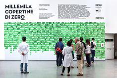 Zero Magazine  Cover exhibition at Triennale di Milano  Art direction: Stefano Temporin